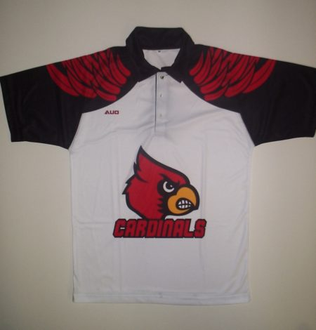 sublimated team polo shirt